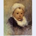Portrait of a child aline gauguin