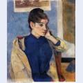 Portrait of madelaine bernard 1888