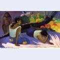 Reclining tahitian women 1894