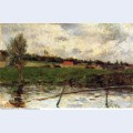 Riverside breton landscape 1879