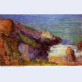 Rocks on the breton coast 1888