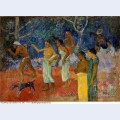 Scene from tahitian life 1896