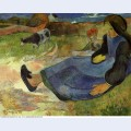 Seated breton girl 1889