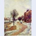 Suburb under snow 1886