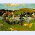 Swineherd brittany 1888