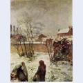 The garden in winter rue carcel 1883