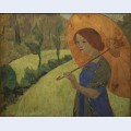 Madame serusier with a parasol