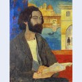 Portrait of emile bernard at florence