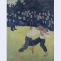 The wrestling bretons