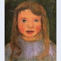 Head of a little girl elsbeth