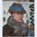 Portrait of martha vogeler