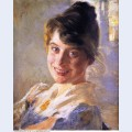Portrait of the artist s wife marie 1889