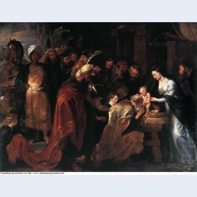 Adoration of the magi 1619