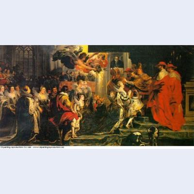 Coronation of marie de medici 1624