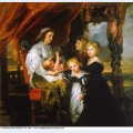 Deborah kip wife of sir balthasar gerbier and her children 1630