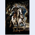 Equestrian portrait of the duke of lerma 1603