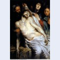 Lamentation christ on the straw 1618