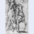 Study for an equestrian portrait of the duke of lerma 1603
