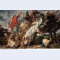 The lion hunt 1621