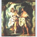 The prophet elijah receiving bread and water from an angel 1628