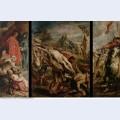 The raising of the cross 1610