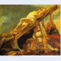 The raising of the cross 1621