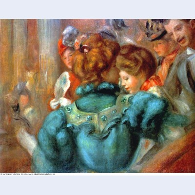 A box in the theater des varietes 1898