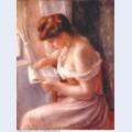 A girl reading 1891