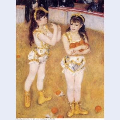 Acrobats at the cirque fernando francisca and angelina wartenberg 1879