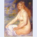 Blonde bather 1881