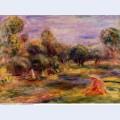 Cagnes landscape 1908