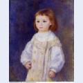Child in a white dress lucie berard 1883