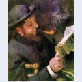 Claude monet reading 1872