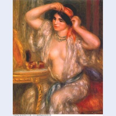 Gabrielle at the mirror 1910