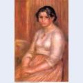 Gabrielle seated