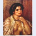 Gabrielle with bare breasts 1907