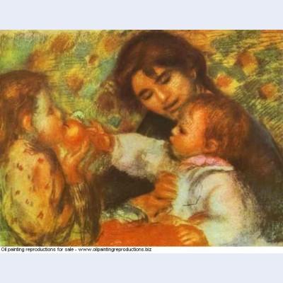 Gabrielle with renoir s children
