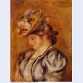 Girl in a flowery hat 1908