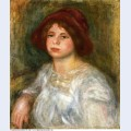 Girl in a red hat 1913