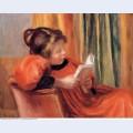 Girl reading 1890