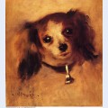 Head of a dog 1870