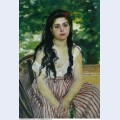 In summer the gypsy 1868