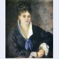 Lady in a black dress 1876