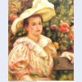Lady with white hat 1895