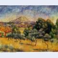 Mount sainte victoire 1889