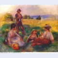 Party in the country at berneval 1898