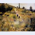 Path leading through tall grass 1877