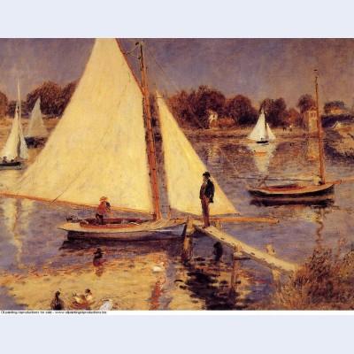 Sailboats at argenteuil 1874