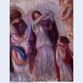 Scene antique femmes aux peplums 1895