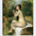 Seated bather 1
